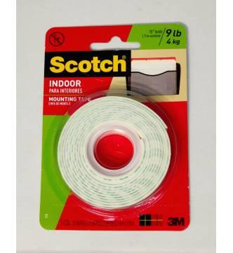 Indoor Mounting Tape 12mm x 2 meter. 3M 110