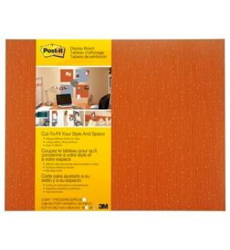 3M 558 Post it Memo board 18x23. Tangelo