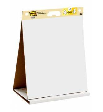 3M 563R Post It Easel Pad Table Top, 20x23 inches