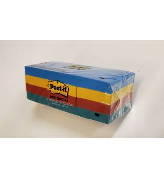Post it Note Pad 1⅜ in x 1⅞ in,12 pad.3M 653-AU