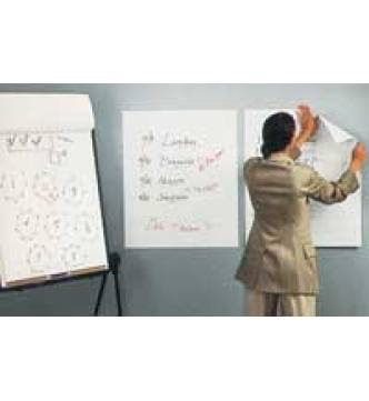 3M 559 Post It Easel Pad-White, 25x30.5 inches