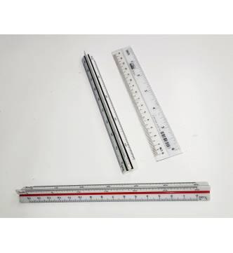 Small Scale Rule Saintograph 6.5 inches 15cm (No. 6)