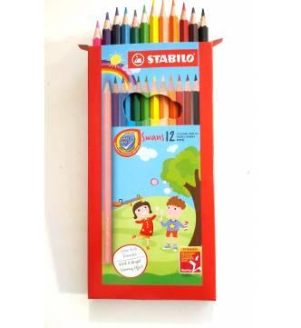 Stabilo Color Pencil 12 1877