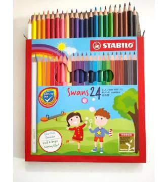 Stabilo Color Pencil  24 1879