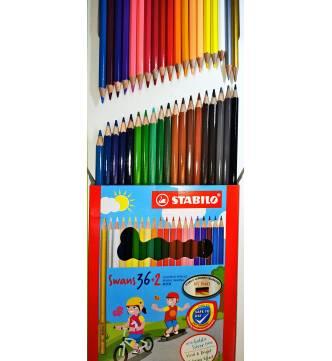 Stabilo Color Pencil 36+2 1870/38
