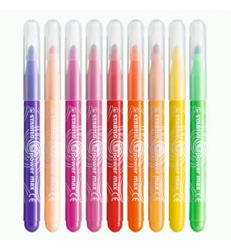 Stabilo Power Max color felt marker pen 980/12