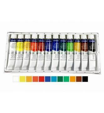 Staedtler 12 color Acrylic Paint set 8500C12