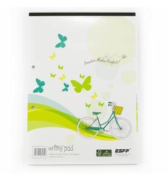 A4 Writing Pad with lines, ESPP