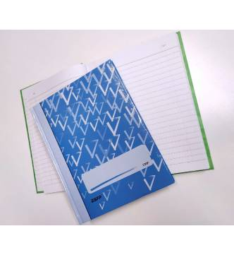 Hard Cover Note Book.120pg A5 with number.