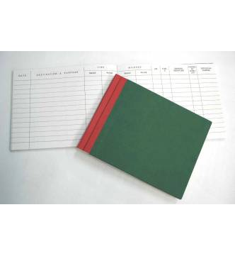 Vehicle Log Book 15 x 19cm.200 pages