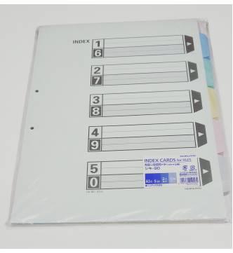 A3 5 Parts Paper Filing Divider, SK90