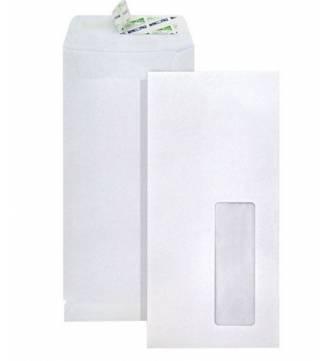 """White Window Envelope, 4"""" x 9"""""""
