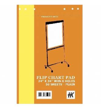 Flip Chart Pad A1 Size 23.4 x 33 inches