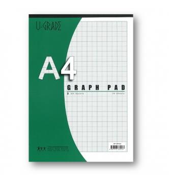 A4 Graph Pad 2mm GP2A4