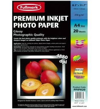 A4 Inkjet Paper, Fullmark PPIPH20