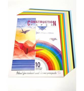 Construction Paper 10 Color A3