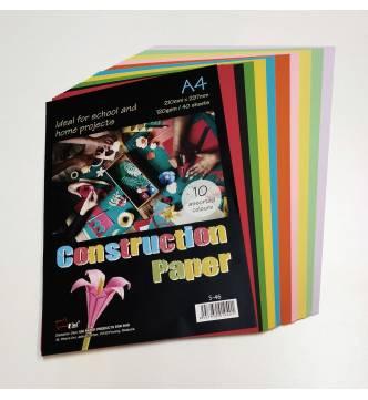 Construction Paper 10 Color A4