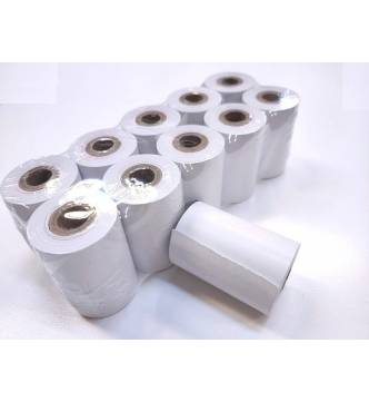 "Thermal Paper Roll 57mm (W) x 40mm (OD) x 12.5mm (1/2 ""Core)."