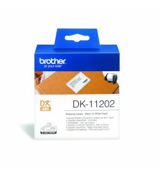 Brother DK11202 shipping label tape.