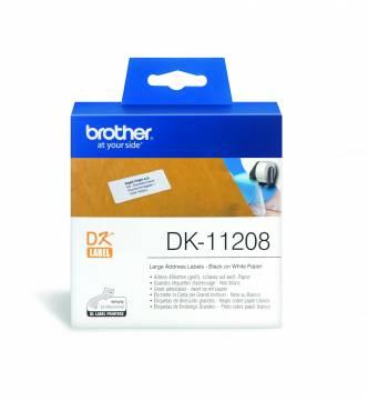 Brother DK11208 large address label tape.