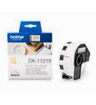 Brother DK11219 round 12mm label tape.