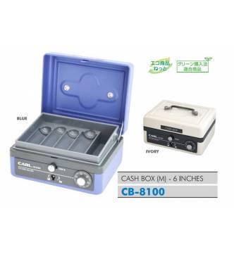 Cash Box.M size. Carl 6 inches CB-8100