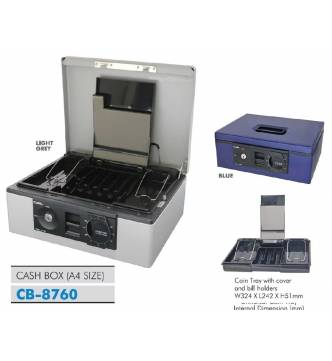 Cash Box.B5 Carl CB-8760
