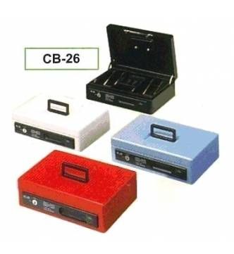 Cash Box. ELM CB-26. Key lock with cash tray.