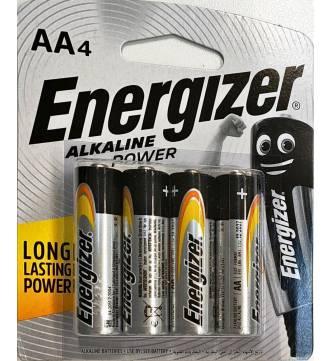 AA  Energiser Alkaline Battery, E91 BP-4