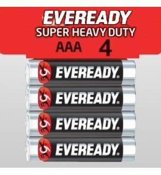 AAA Eveready Super-Heavy duty bettery.1212 SW4