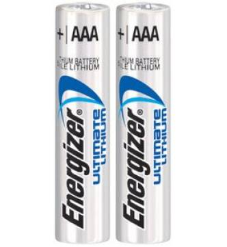 AAA Lithium Battery.Energizer e2, #L92 BP-2