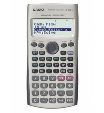 Financial Calculator. Casio FC-100v.