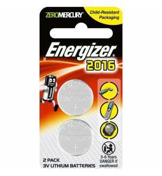 CR 2016 Button Battery - Energizer