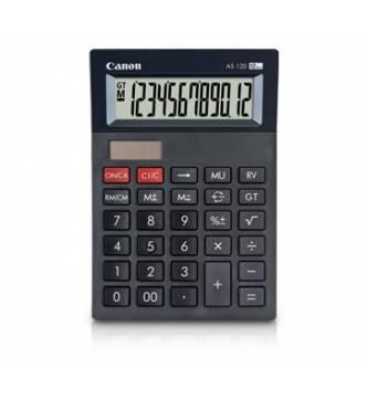 12 Digit Desk Top Calculator Canon AS 120