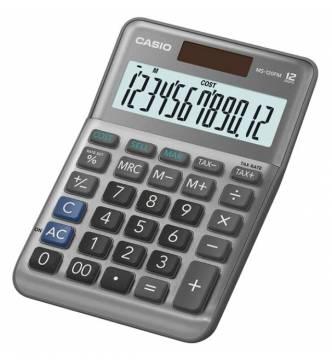12 Digit Desk Top Tax Calculator Casio MS 120FM