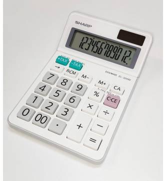 12 Digit Desk Top Tax Calculator. Sharp EL320W