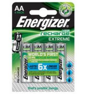 AA Rechargeable 2450mAh Battery Energizer Extreme NH15BP4