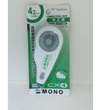 Dry Correction Tape 4.2mm ,Tombow CT-CX4