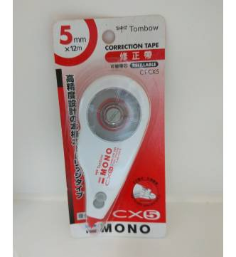 Dry Correction Tape 5mm.Tombow CT-CX5
