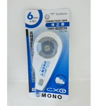 Dry Correction Tape 6mm.Tombow CT-CX6