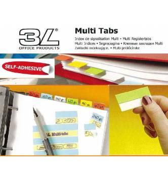 Multi Tabs Index. 50mm.3L