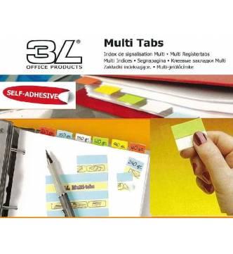 Multi Tabs Index tab. 25mm 3L