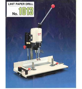 """Heavy Duty Paper Drill Punch LH1013, Capacity 50mm (2"""")"""