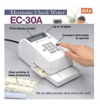 Max EC30A Check Writer