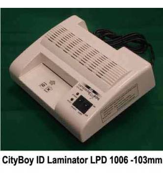 ID size Laminator.Fujipla City Boy LCP 1009-103mm