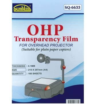 LaserTransparency Film A4 Suremark SQ6633