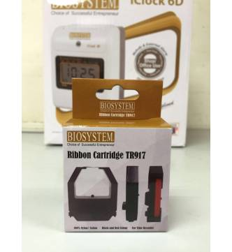 Ribbon for Time Recorder Biosystem TR917