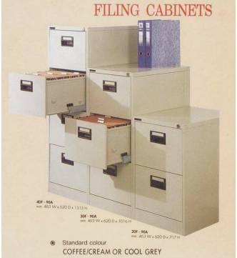 Metal 2 Drawer Filing Cabinet #402