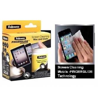 Mobile phone and touch screen cleaning  wax kit. Fellowes 9911601
