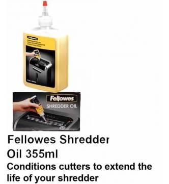 Shredder Oil. Fellowes F35250